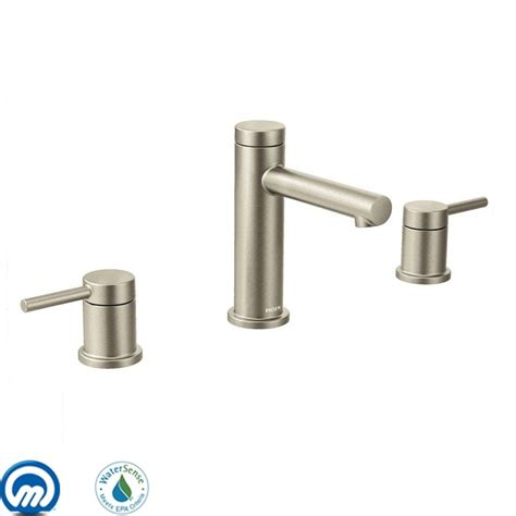 moen brushed nickel kitchen faucet faucet com t6193bn in brushed nickel by moen