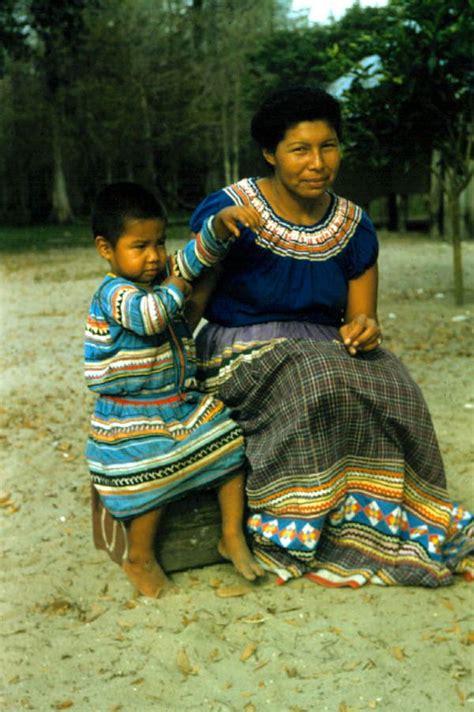 florida memory seminole mother  child