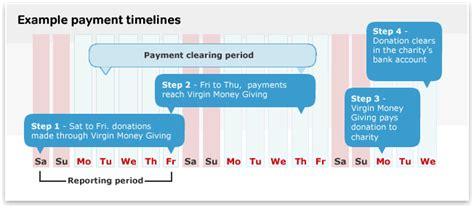 virgin money giving charity user guide donation