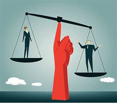 Gender Vector Inequality Justice Scale Clip Balance