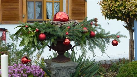 Weihnachtsdeko Für Garten Gebraucht by Weihnachtsdeko F 252 R Den Garten Weihnachtsdeko Garten Wohnen
