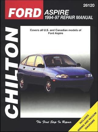 what is the best auto repair manual 1997 dodge ram van 3500 engine control ford aspire repair workshop manual 1994 1997 chilton 26120