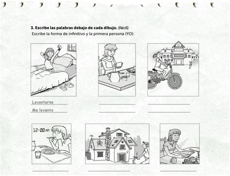 daily routines worksheet rockalingua