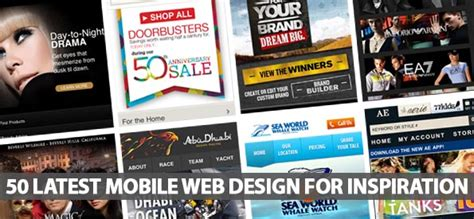 Mobile Web Design Inspiration by 50 Mobile Web Design For Inspiration Design