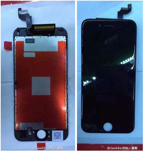 new iphone 6s claimed iphone 6s display assembly revealed in new