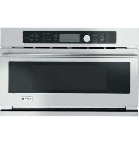 ge monogram  stainless steel built   advantium speedcook ovenmicrowave ebay