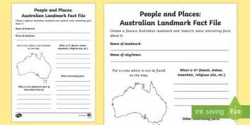 Australian Landmark Fact File - Geography Resource - Twinkl