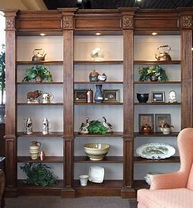 lighted wall unit bookcase display cabinet With build traditional bookcases wall units