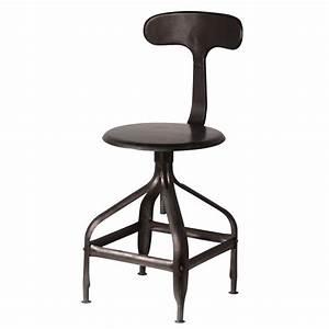 Chaise Jardin Maison Du Monde : chaise noire indus t l graphe maisons du monde ~ Premium-room.com Idées de Décoration