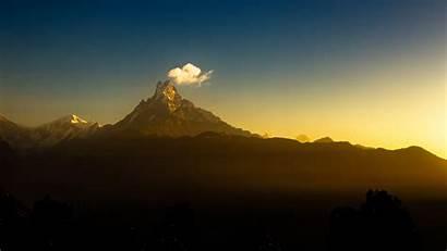 Nepal Himalayas Trekking Season Travel Fishtail Mountain