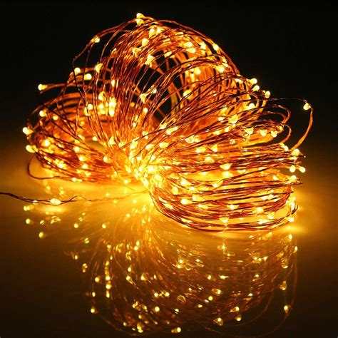 Led Solar String Lights by 3 6w Multicolor 32m Led String Light Solar Power Copper