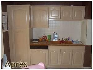 Rénover Une Cuisine En Chêne : renover vieille cuisine bois argileo ~ Melissatoandfro.com Idées de Décoration