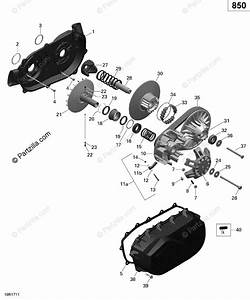 Can-am Atv 2017 Oem Parts Diagram For Transmission