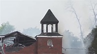 Louisiana Church Fire Arrest - YouTube