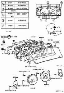 Toyota Corolla Instrument Panel Light Bulb  Bulb