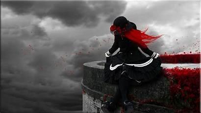 Gothic Wallpapers Desktop Dark Anime Backgrounds Tapeta