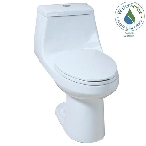 glacier bay 1 1 1 gpf 1 6 gpf high efficiency dual flush elongated all in one toilet in