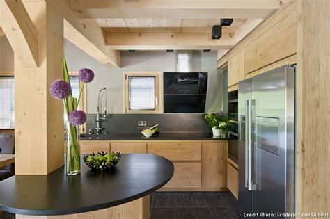 et cuisine poele l 39 inarpa un chalet revisité maison créative