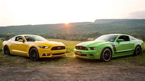 I Can't Decide Between A New Ford Mustang Gt Or An Old