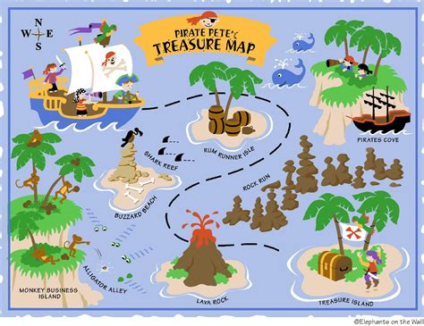 free printable pirate treasure map google search boy pirates pinterest pirate treasure