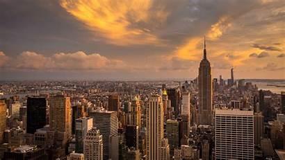 4k York Wallpapers Desktop Ultra Manhattan Sunset