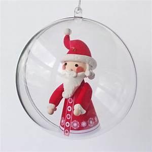 Boule Noel Transparente : boule de noel transparente cultura ~ Melissatoandfro.com Idées de Décoration