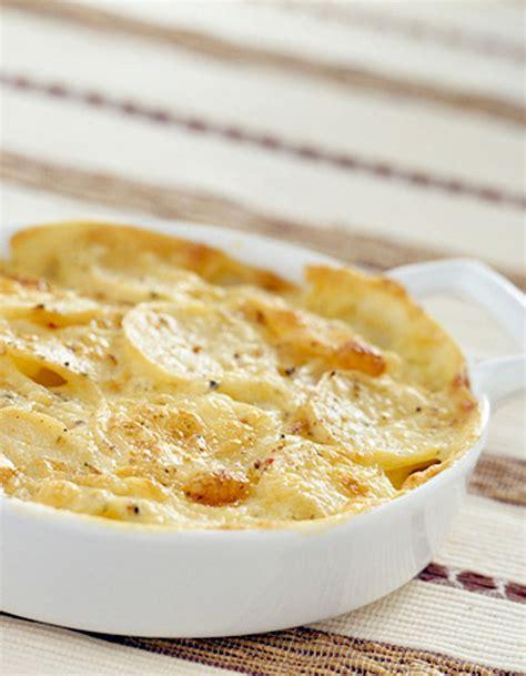 gratin de pommes de terre au saumon fum 233 pour 4 personnes