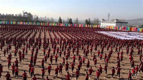 Kunfu Academy, China, near the Shaolin Temple, (Tagou ...