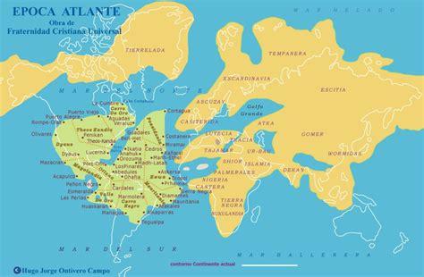mapa de atlantida