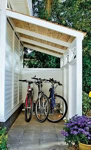 Fahrradunterstand Bikeport Schuppen Selbstde