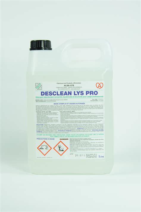 produit cuisine professionnel produit détergent désinfectant 5 litres