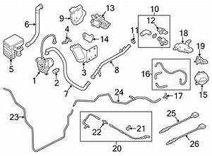Audi Q5 Evaporative Emissions System Lines  W  Hybrid  Engine Area - 8r0253760h