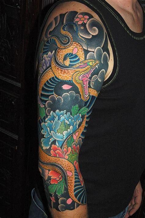 cool japanese sleeve tattoos  awesomeness