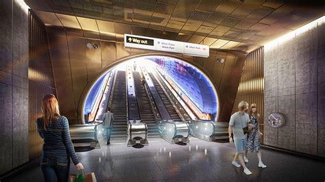 london underground station design idiom nulty lighting