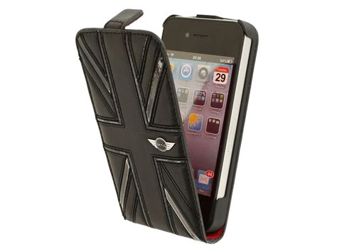 mini cooper iphone holder mini cooper black flip hoesje voor iphone 4 4s