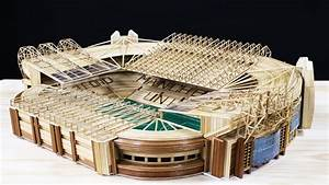 How To Make The Old Trafford Stadium Of Mu With Wooden