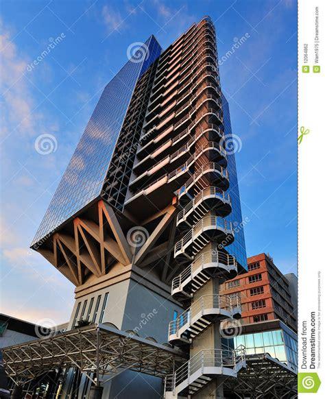 immeuble de bureaux immeuble de bureaux futuriste photo stock image du