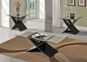 elhan black modern coffee table set With modern contemporary coffee table sets