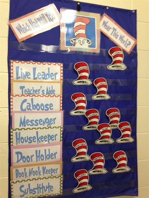 dr seuss job chart love  dr suess themed classroom