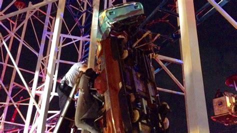 coaster roller beach daytona florida accident rollercoaster heavy derails