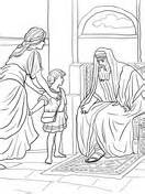 hannah prays   son coloring page  printable coloring pages