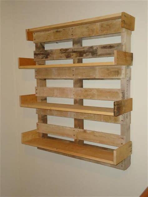 Bookshelf Made From Pallets