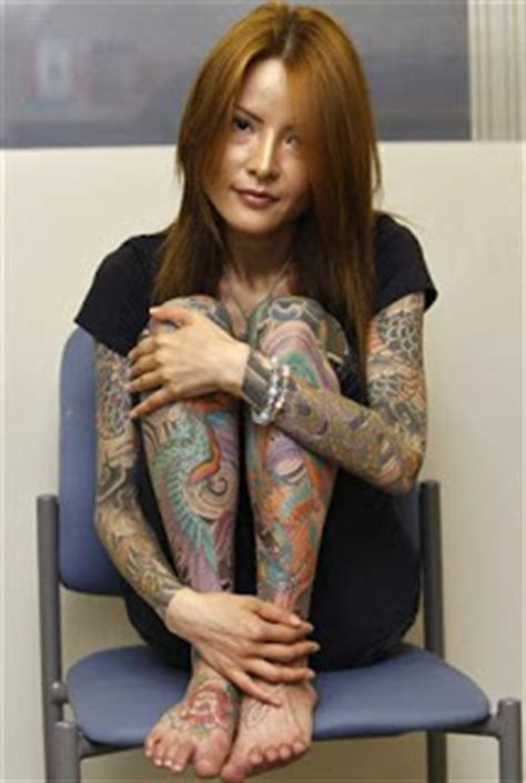 foto de Yakuza Tattoo Girl The Fashion Styles