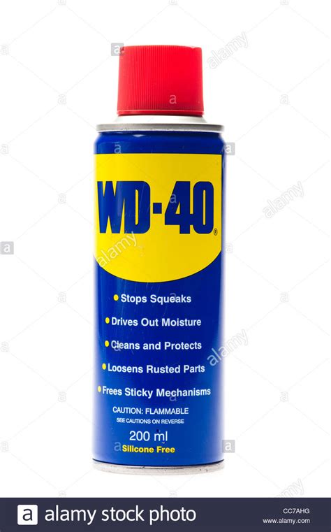 a can of WD-40 spray lubricant Stock Photo, Royalty Free ...
