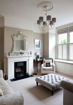 the neutral shades of taupe and grey in this london
