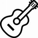 Gitaar Pictogram Icons Icon Muziek Minimal Gratis
