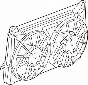 Chevrolet Tahoe Engine Cooling Fan Shroud  Make  Radiator