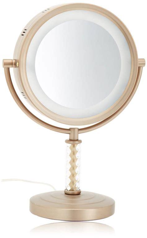 lighted makeup mirror amazon amazon com jerdon hl856bc 8 inch halo lighted vanity