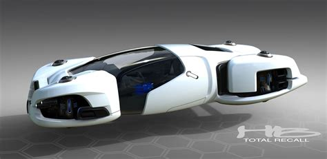 Total Electric Cars by The 2084 Chrysler Hover Car