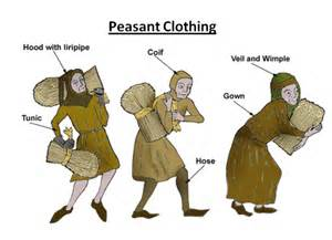 Medieval Peasant Clothing Middle Ages